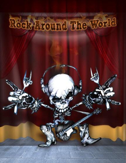 metallschädel - rock around the world