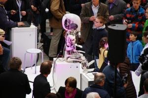 roboter ausstellung im puls 5