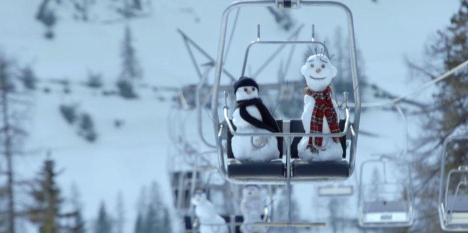 Snowman Zurich
