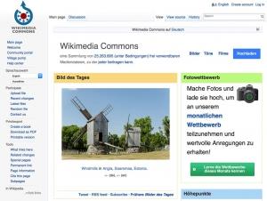 Wikimedia Commons - Hauptseite