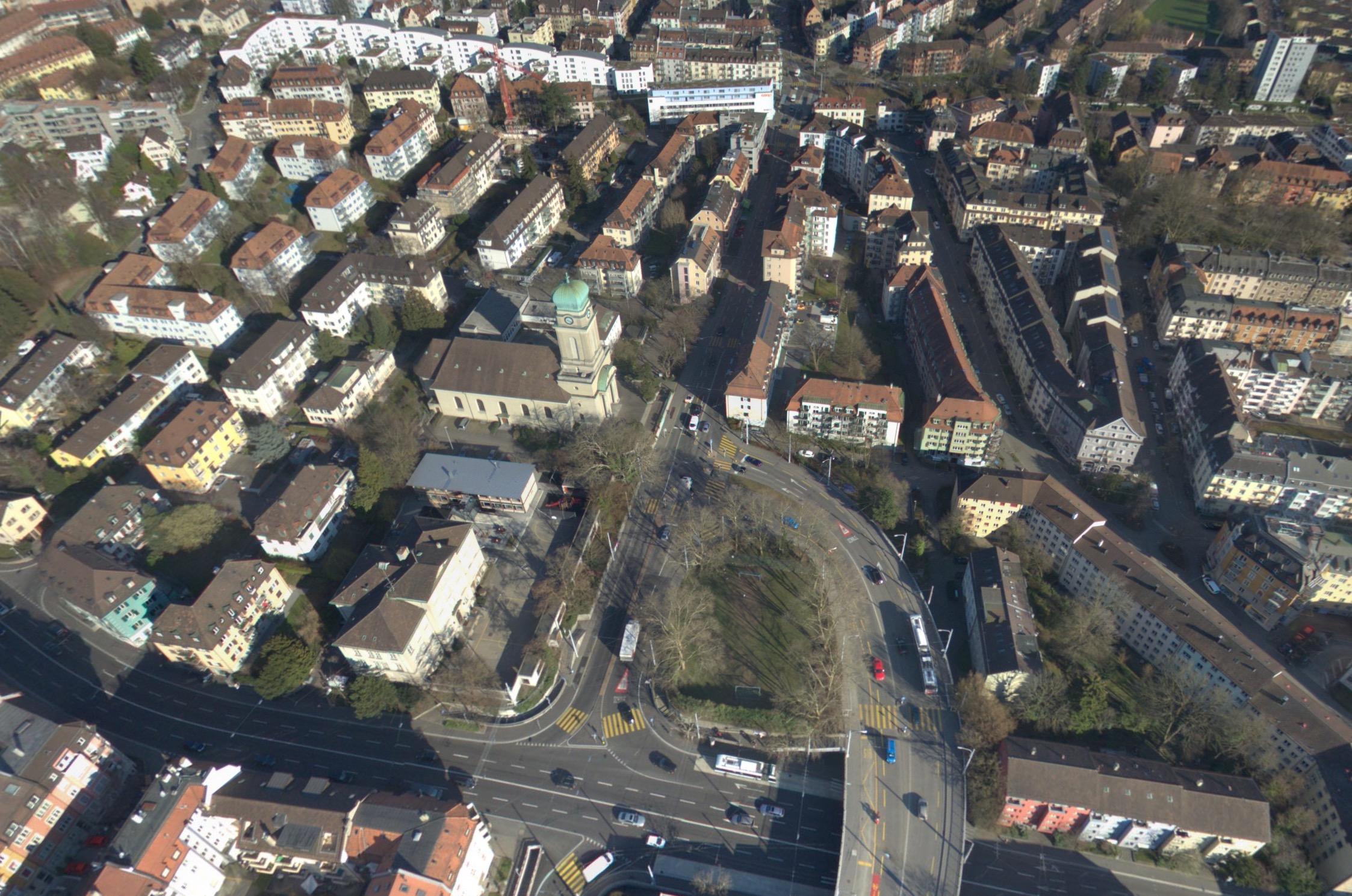 Aerial Zürich Wipkingen
